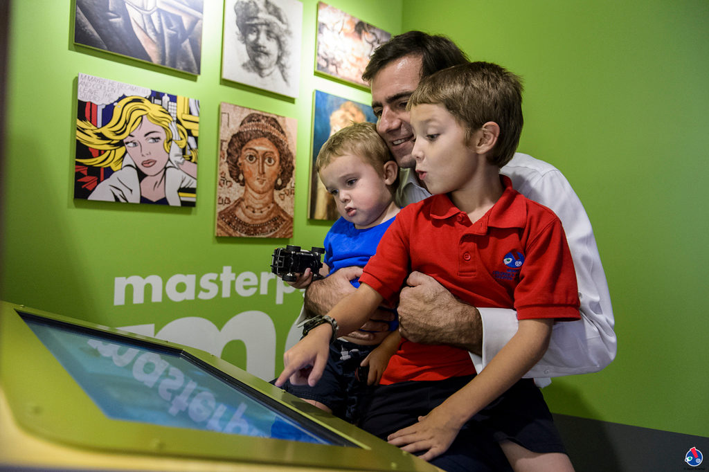 Miami Children's Museum opens it's newly renovated Art Gallery on November 9, 2017