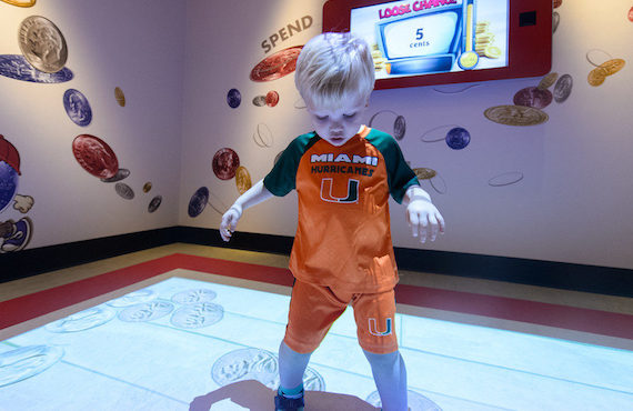 Bank Of America Exhibit opens at Miami Children's Museum on November 5, 2016