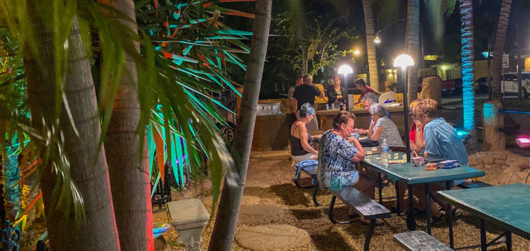 Social event Green Seas Motel
